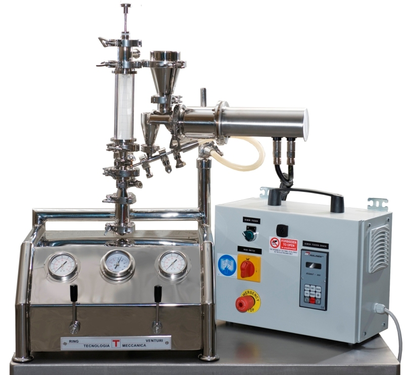 The J-20 Fluid Jet Micronizer series suitable for R&D and lab works